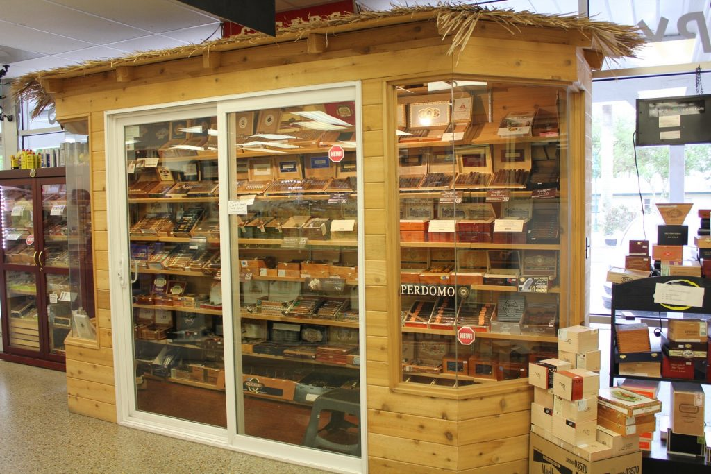 Our Walk-in Cigar Humidor