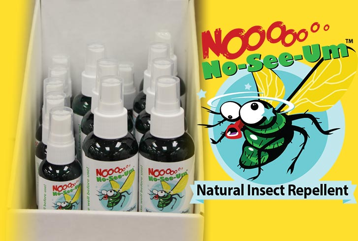 No-See-Um Natural Insect Repellent
